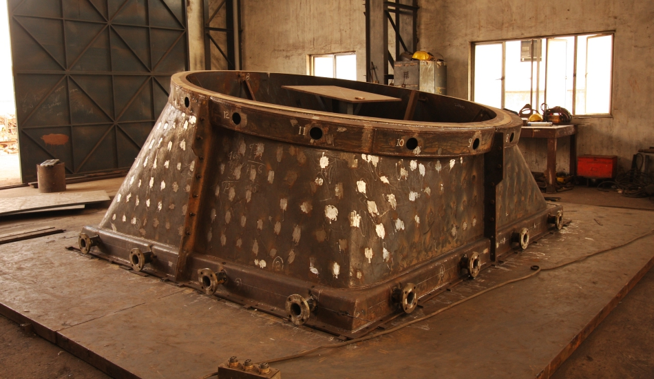 Digester Under Fabrication